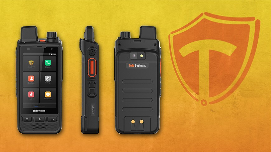 Smartphone PTT TE590